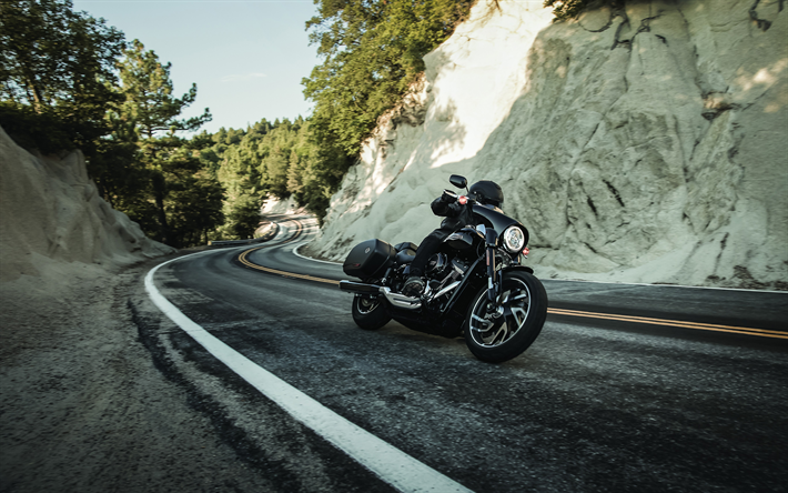Download Wallpapers Harley Davidson Sport Glide 4k 2018 Bikes Biker Superbikes Harley Davidson Harley Davidson Harley Motos Harley Davidson