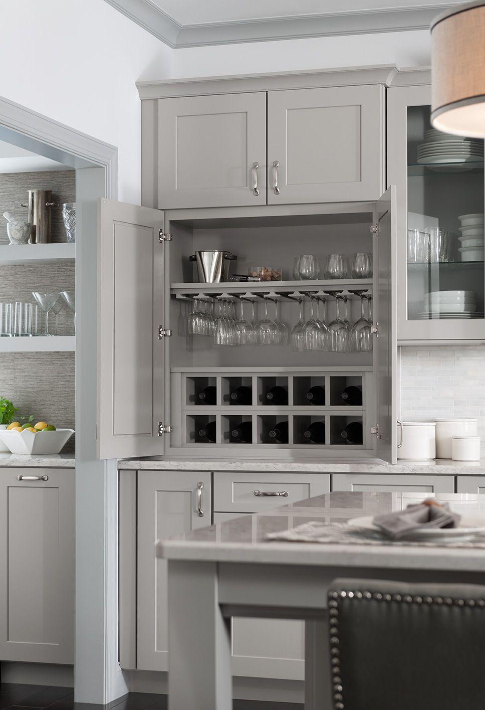 Large Cove Moulding Shenandoah Kitchen Cabinet Design Antique White Kitchen Kitchen Cabinet Remodel
