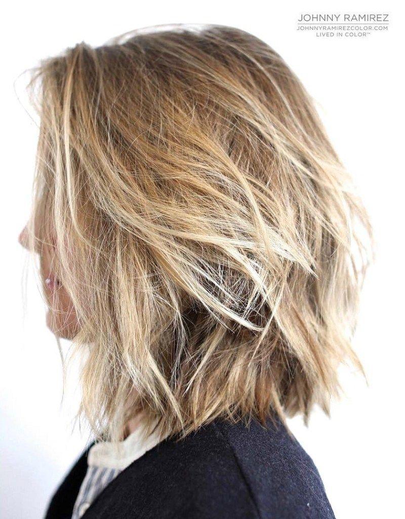 70 Brightest Medium Layered Haircuts To Light You Up Messy Bob