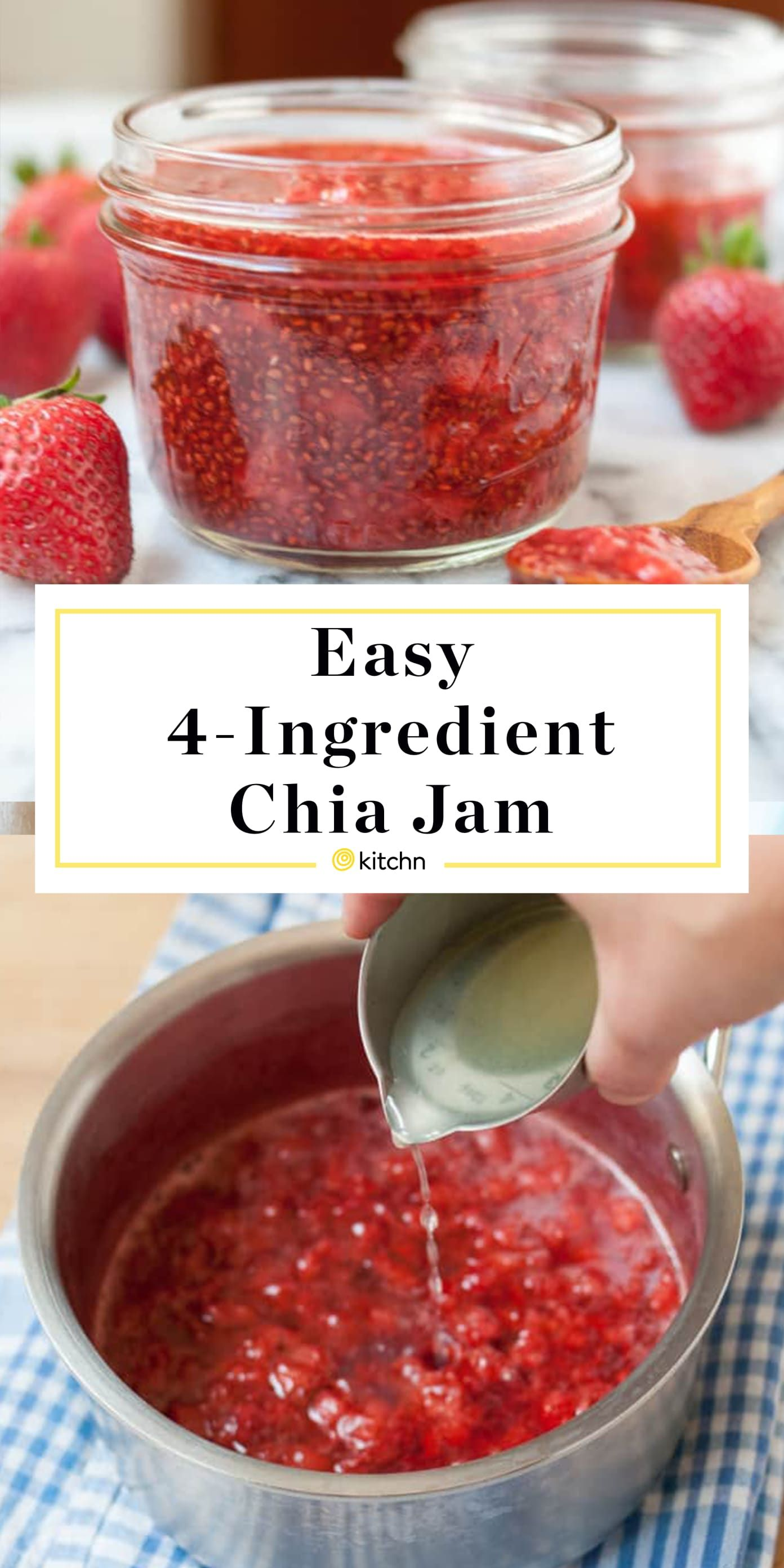 How To Turn Any Fruit Into Low Sugar Jam In Just 20 Minutes Recipe In 2020 Chia Jam What Is Healthy Food Jam