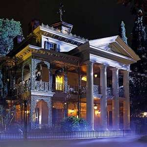 The Haunted House Disneyland