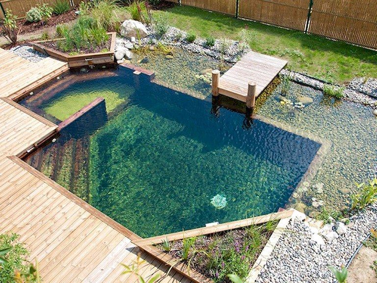 58 Amazing Backyard Waterfall And Pond Landscaping Ideas Small Pool Design Natural Pool Pool Landscaping