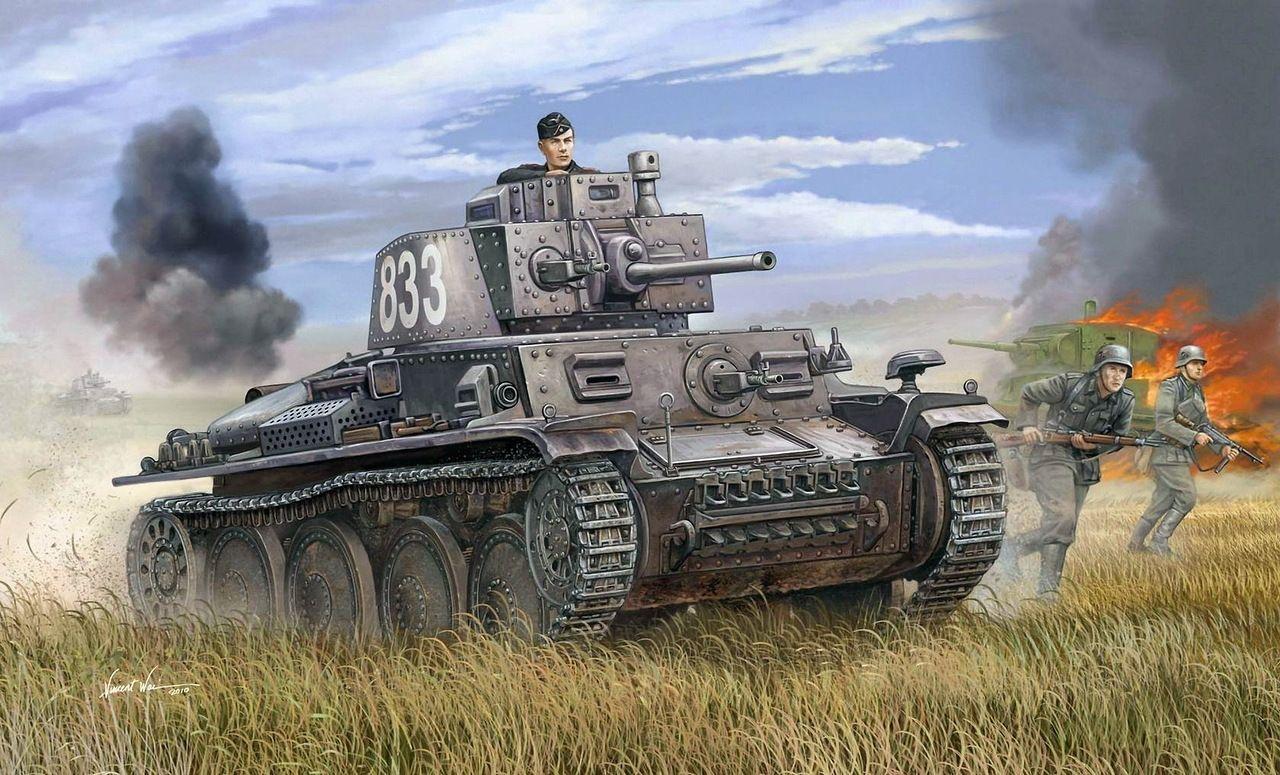 ww2 paintings   WW2 Tank Paintings   PANZER PIRATE   Ww2