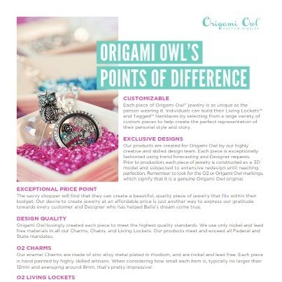 Origami Owls Points Of Difference Designer 26947 Http