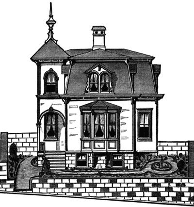French House Plans with Mansard Roof