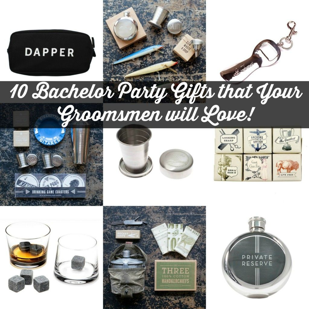 10 Bachelor Party Gifts that Your Groomsmen Will Love   Craft ...