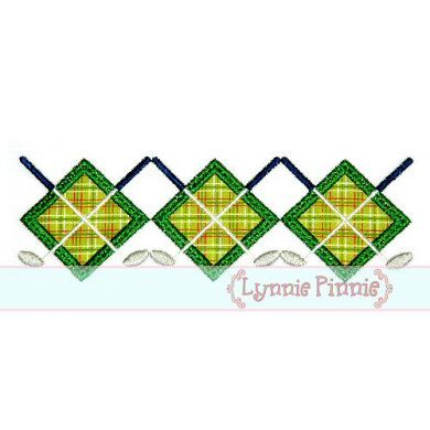 Embroidery Designs - Golf Argyle Applique & Mini 4x4 5x7 6x10 7x11 SVG *KCK* - Welcome to Lynnie Pinnie.com! Instant download and free applique machine embroidery designs in PES, HUS, JEF, DST, EXP, VIP, XXX AND ART formats.