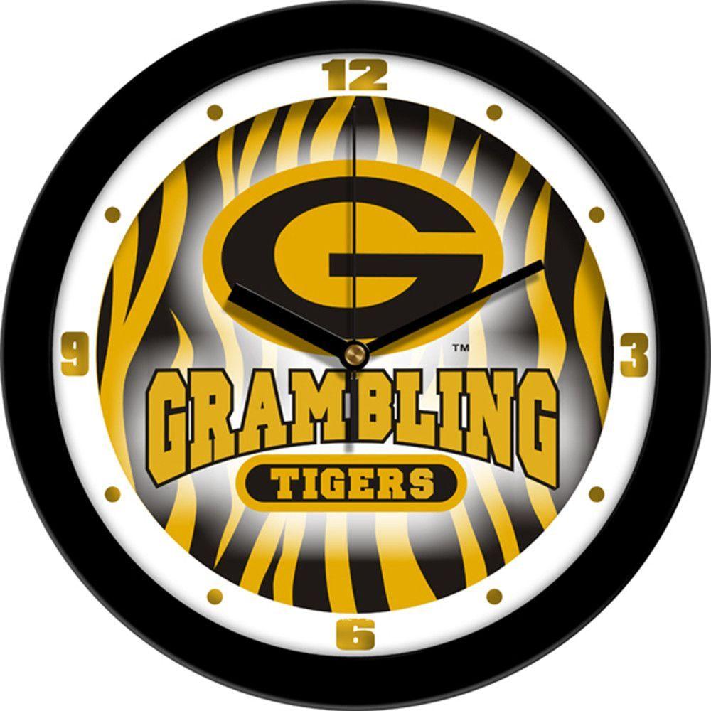 Grambling state tigers ncaa dimension wall clock