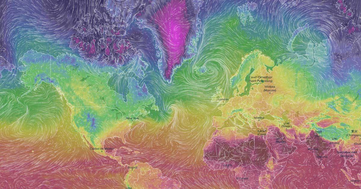 Ventusky Wind Rain and Temperature Maps