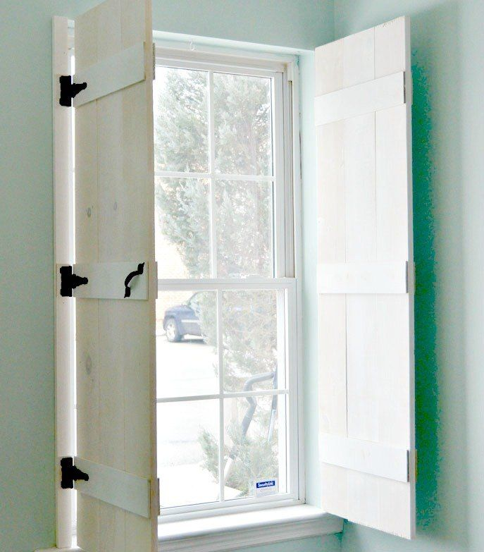 Diy Farmhouse Style Indoor Shutters Indoor Shutters Farmhouse Style And House