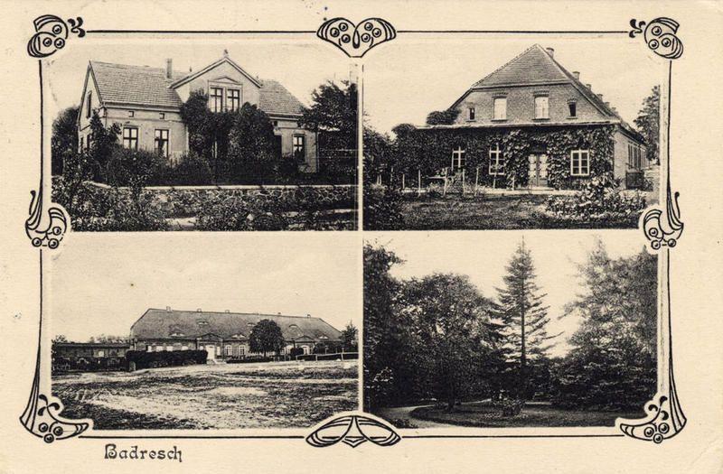 Guts- & Herrenhäuser / Gutshäuser - B / Badresch