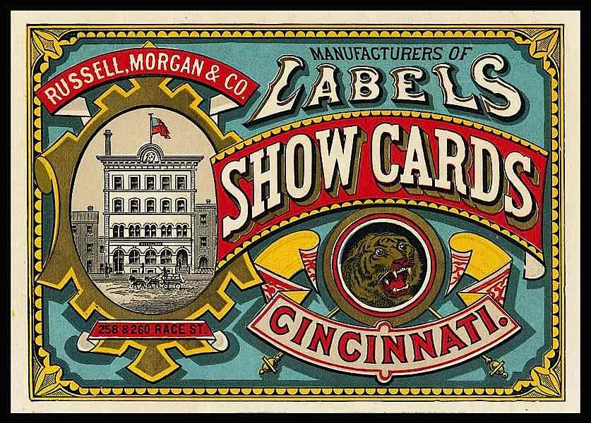 Before Business Cards: Trade Card Designs From the Victorian Era ...