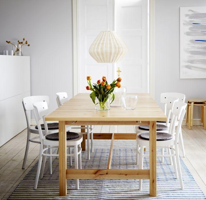 Ikea Tavoli Allungabili Con Sedie.Pin Su Ikea Designs