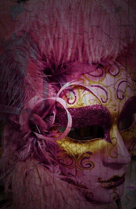 Marti Gra' mask