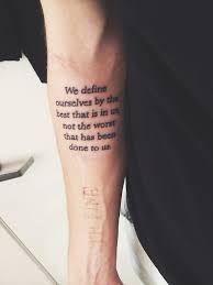 Resultado De Imagen Para Tatuajes Para Muslo Hombre Frases Tatoo