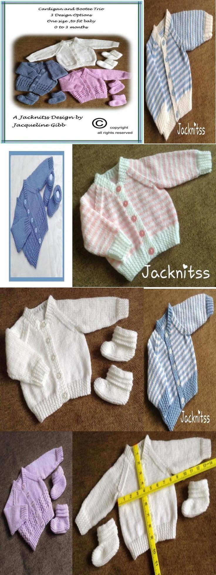 Photo of Basic New Baby Cardigan set Knitting pattern by Jacqueline Gibb #Basic #New #Bab… ,  #Bab #…