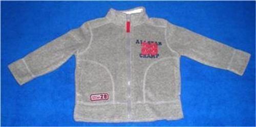 CARTER'S Jacket 2T Gray Fleece Jacket Polyester Everyday Long Sleeve Fall Solid $14.88 #Carters #Jacket #Everyday