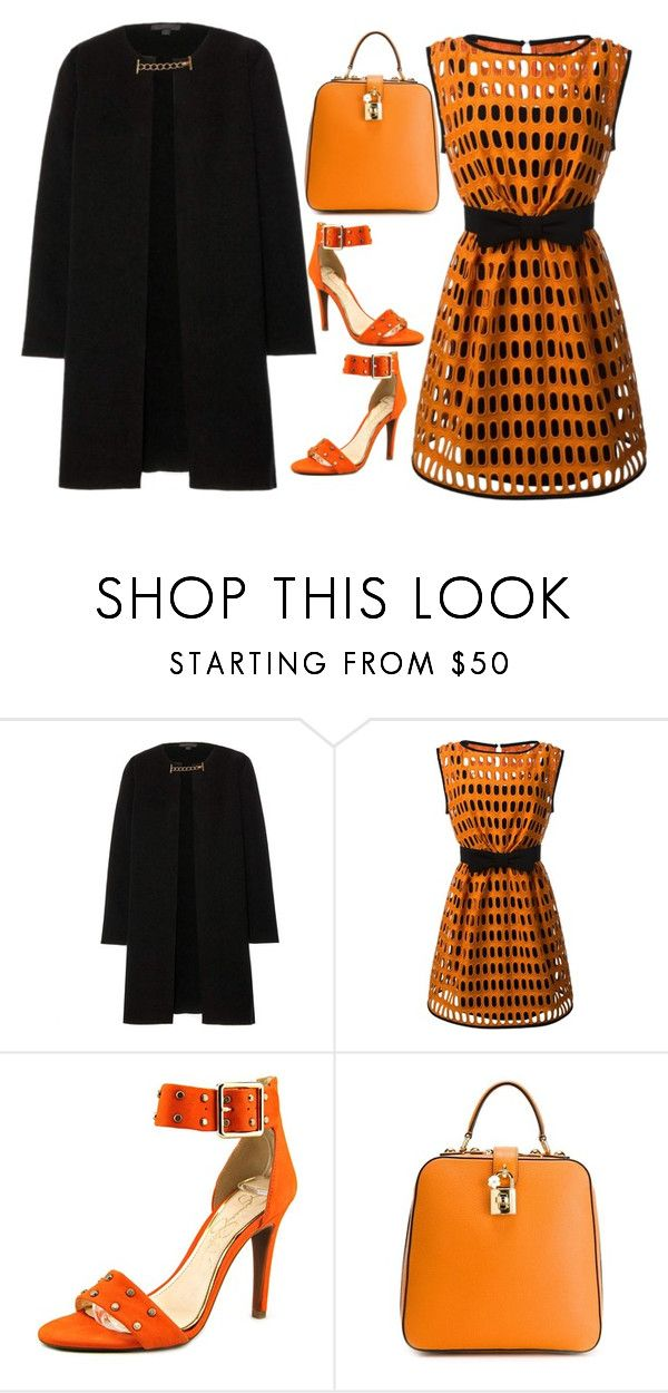 """Not Just For Halloween"" by theranna on Polyvore featuring Burberry, Moschino and Jessica Simpson"