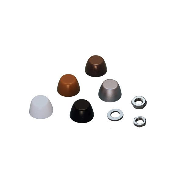 C0307-CH02-10 HandiSwage Cover Nut Chrome - 10 pack ...