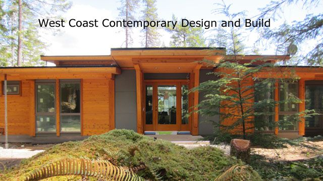 Pole framed houses on pinterest timber frame homes for West coast home design