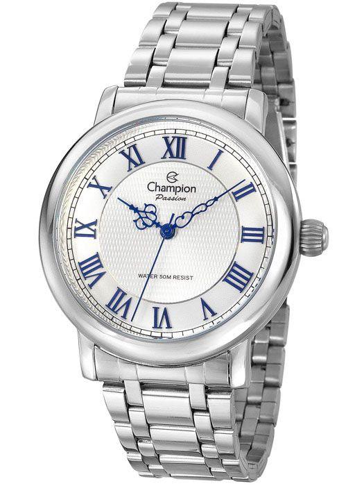f410e89a0da Relógio Champion Passion Feminino Prata CN29936Q