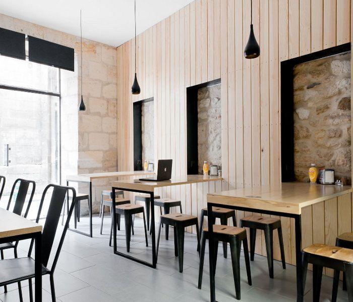 restaurant bordeaux o petit en k par le studio hekla restaurants bars boutiques. Black Bedroom Furniture Sets. Home Design Ideas
