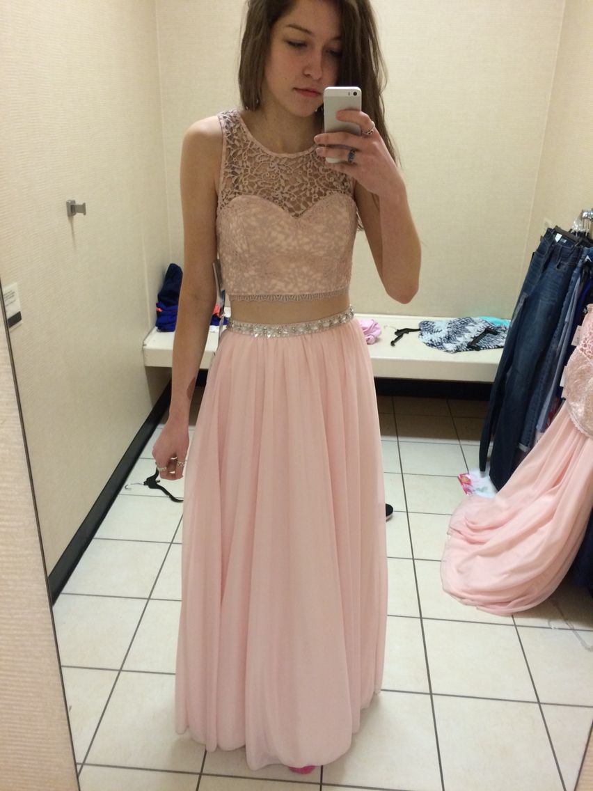 Two Piece Prom Dress From Jcpenney Prom Pinterest Prom