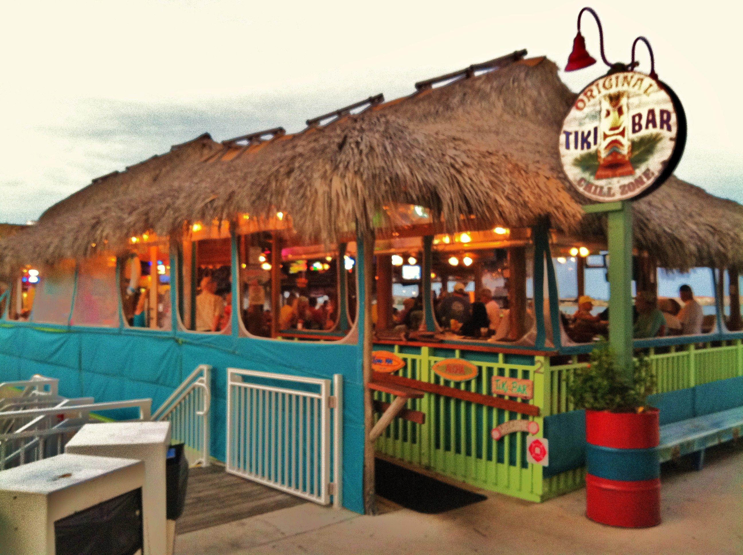 Original Tiki Restaurant Downtown Fort Pierce Fl At Marina Square Photo By Marcy Brennan Fort Pierce Tiki Restaurant Florida