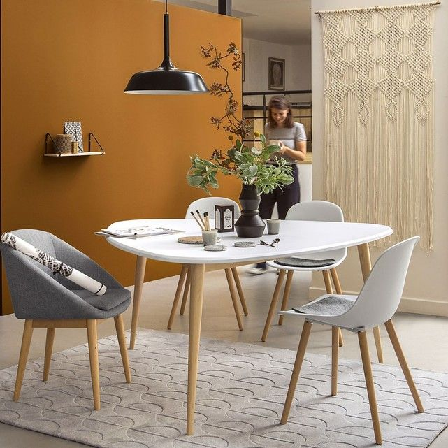 table de salle manger 6 personnes jimi taille 6. Black Bedroom Furniture Sets. Home Design Ideas