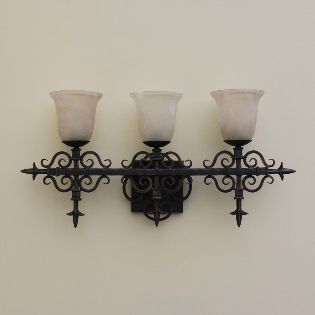 Black Wrought Iron Bathroom Light Fixtures Wotus Refresh - Black wrought iron bathroom light fixtures