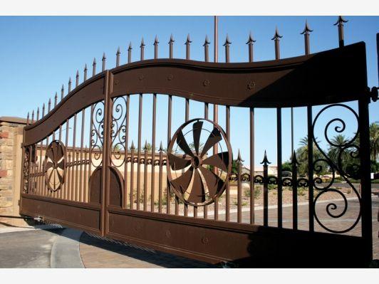 Estate Gates - Home and Garden Design Ideas   Fencing and Gates ...