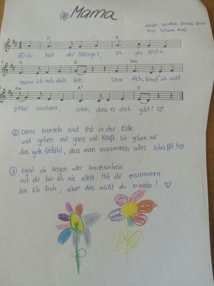 Lied Für Mama Zum Geburtstag