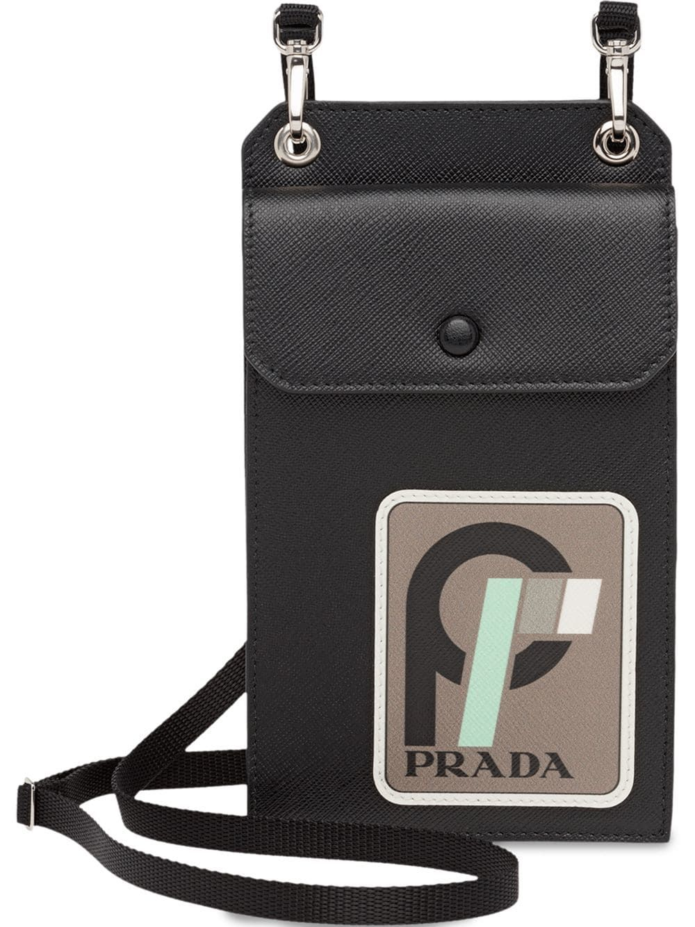 f9a2ed362250 PRADA PRADA SAFFIANO LEATHER CELLPHONE CASE - BLACK. #prada | Prada ...