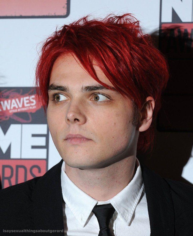 My Chemical Romance Photo Gerard Way Gerard Way Gerard Way Red Hair My Chemical Romance