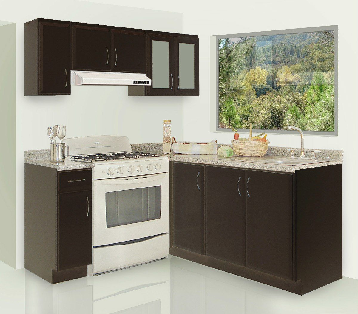 Imagenes de cocinas integrales modernas cocinas - Ideas para cocinas pequenas ...
