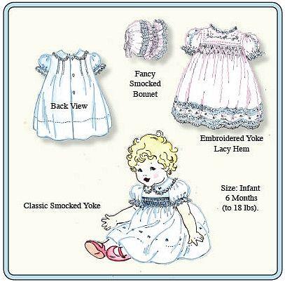 Emma's Smocked Baby Dresses Pattern
