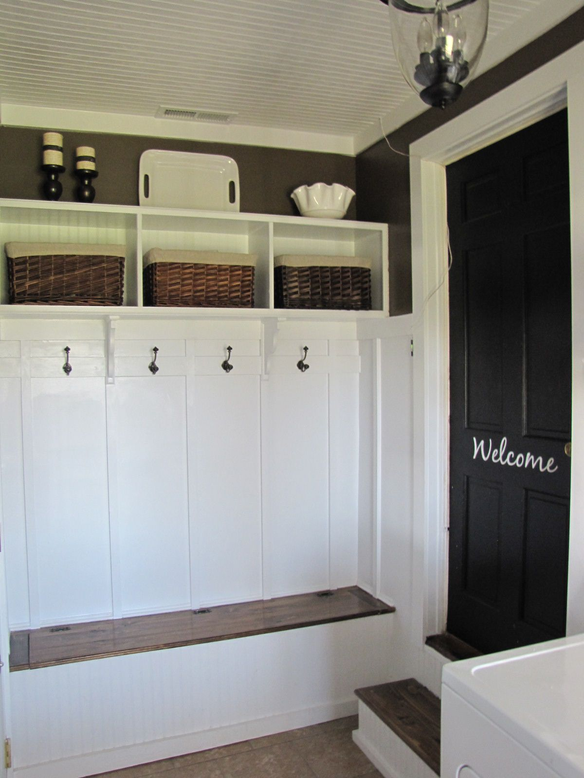 Ordinaire A Laundry/Mudroom Makeover Re Visited   Beneath My Heart. Garage DoorsGarage  MudroomsGarage EntrywayEntryway IdeasGarage ...