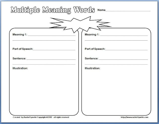 math worksheet : 1000 images about multiple meaning on pinterest  multiple  : Multiple Meaning Word Worksheets