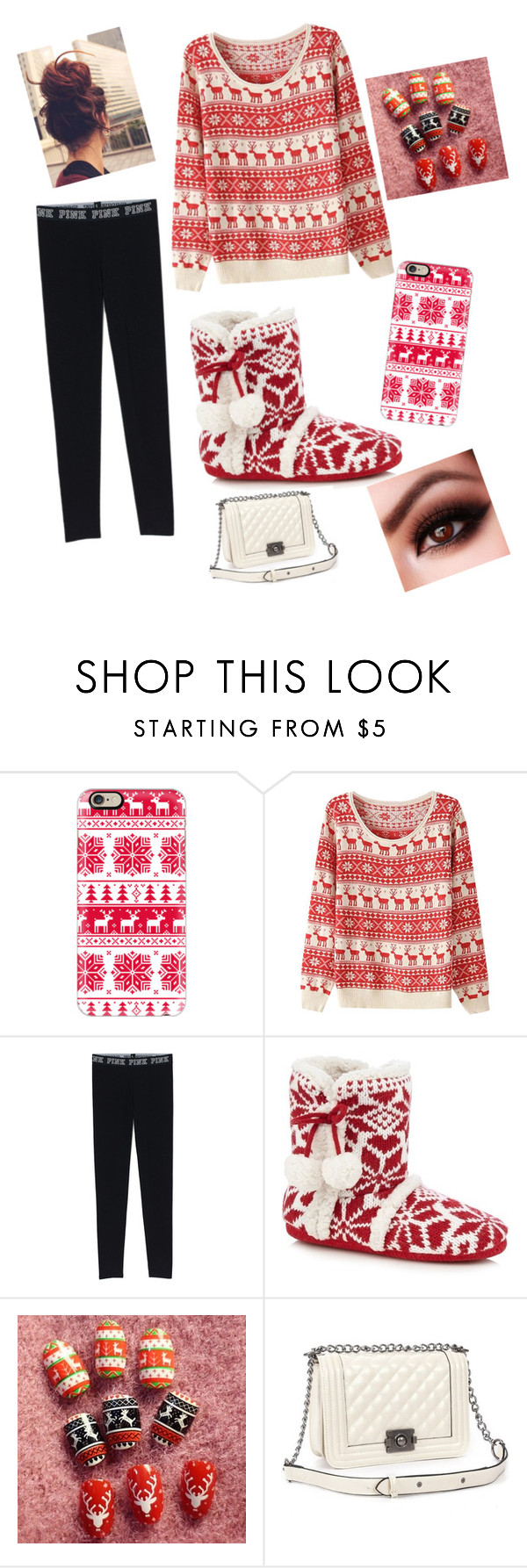 """""""Christmas Outfit"""" by queentreza on Polyvore featuring Casetify and Relaxfeel"""