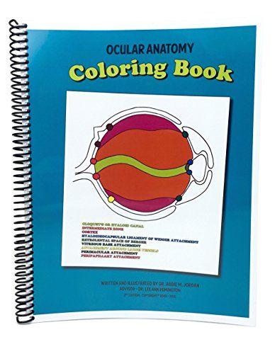 Ocular Anatomy Coloring Book 3rd Edition