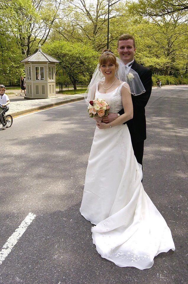 Patti Ann Browne med Ektemann Mike Browne