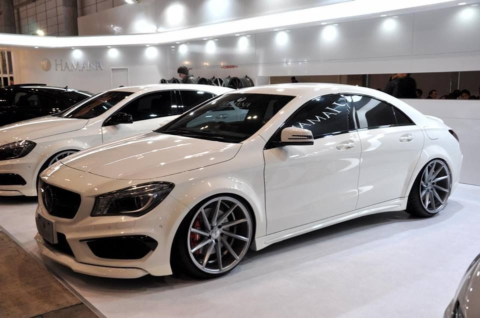Vossen Wheels Widebody Cla Hamana Mercedes Benz Cla 250
