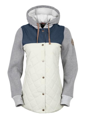 686 Womens Snowboard Jacket Parklan Autumn Insulated
