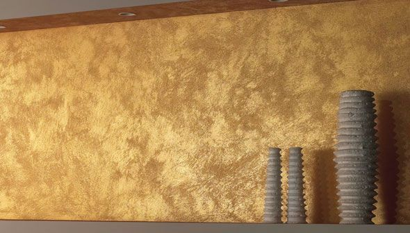 Gold Walls Polished Plaster Gold Painted Walls Golden Wall