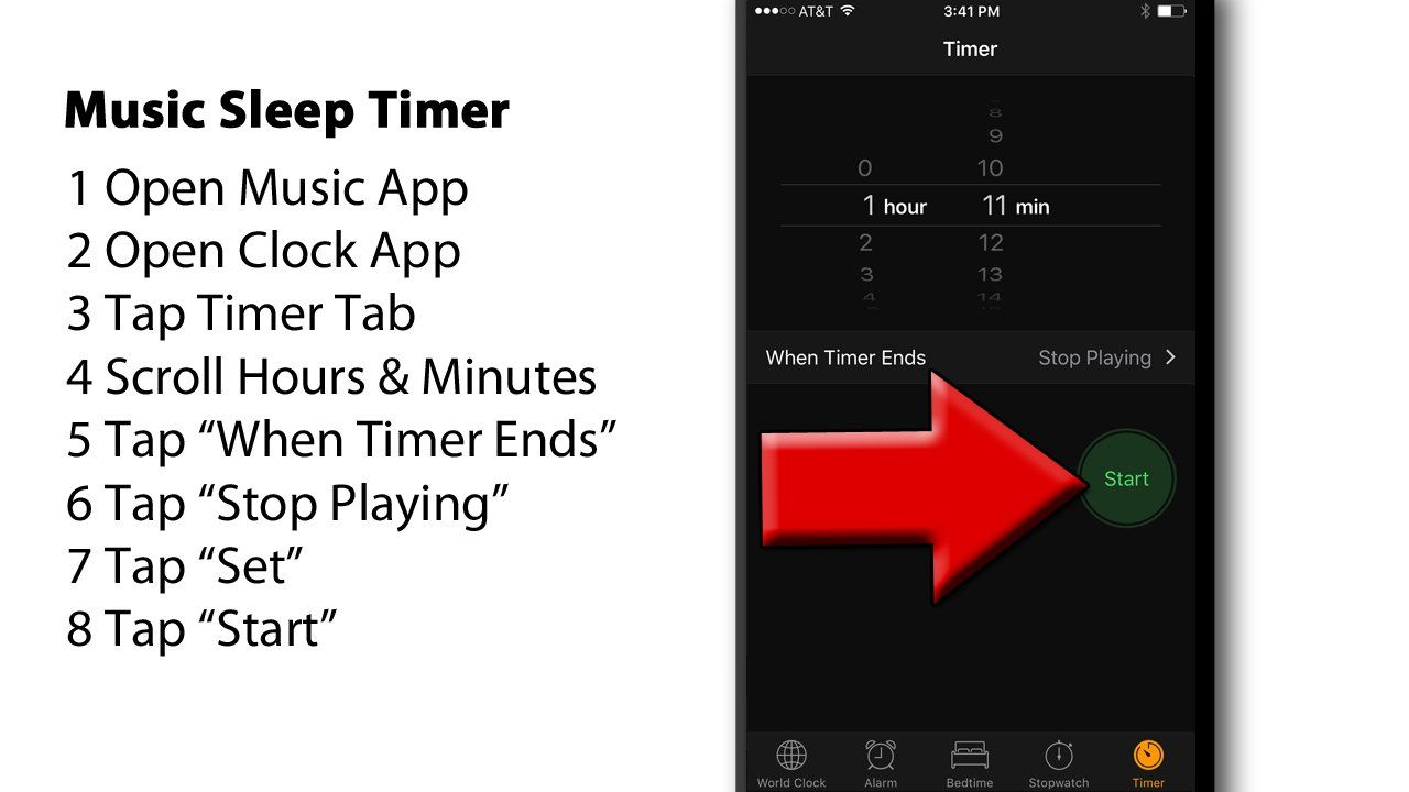 Discover how to set a sleep timer to turn off your Music