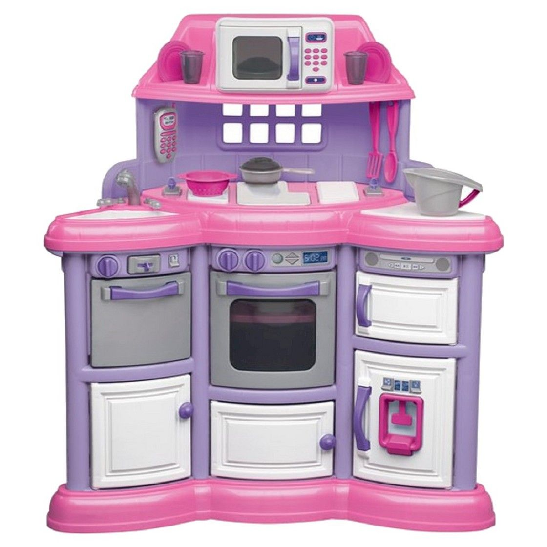 American plastic toys playtime kitchen without light and