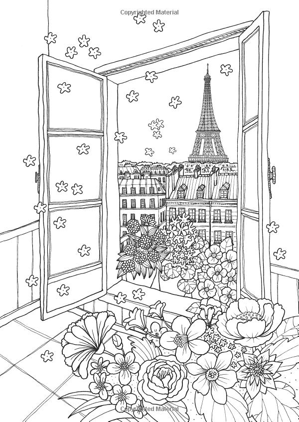Coloring Europe: Vive la France: Il-Sun Lee: 9781626923911: Amazon ...