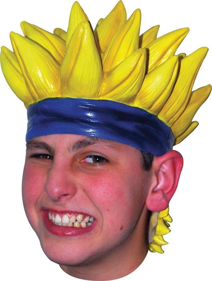 Japanese Anime Naruto Men\'s Yellow Latex Cosplay Wig | Anime ...