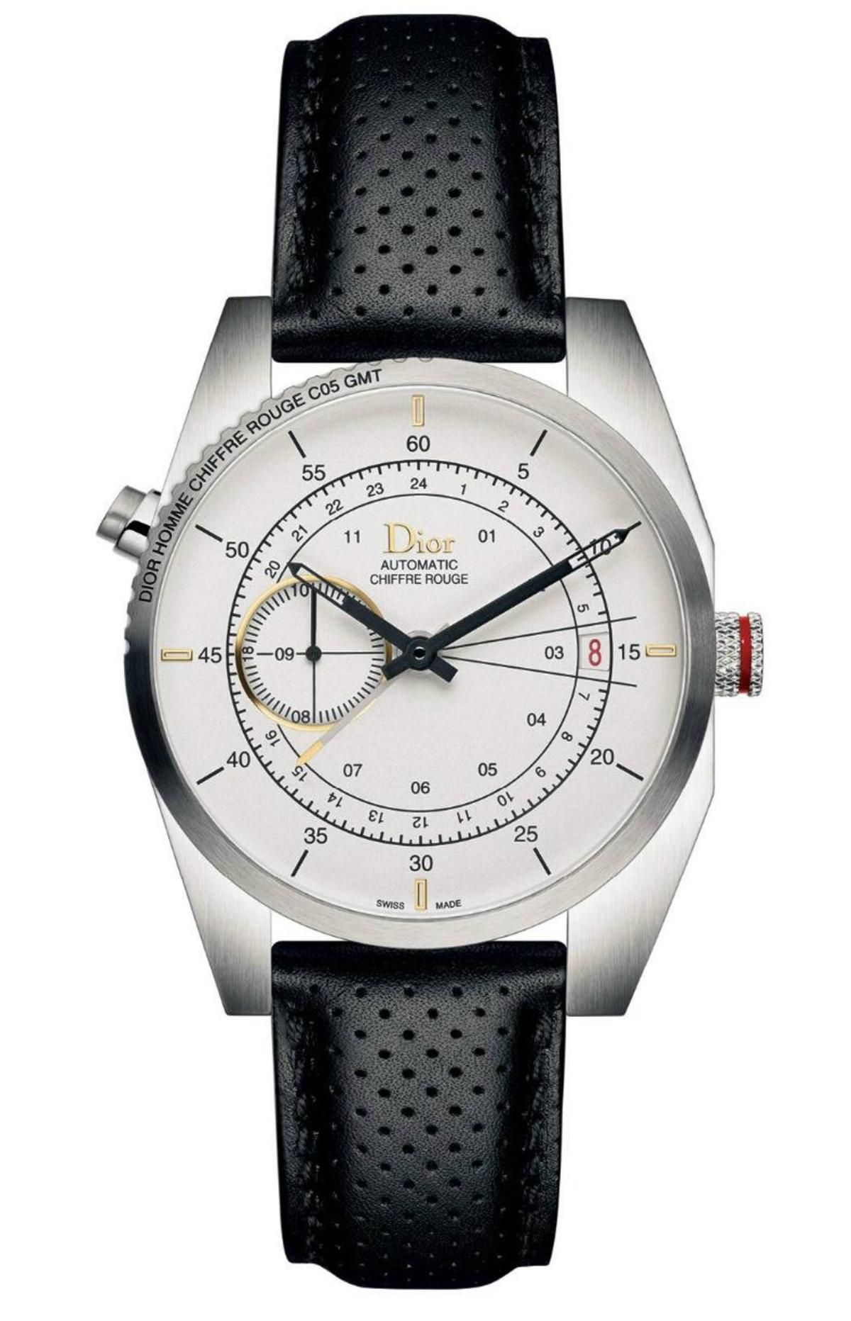 019f24e0bd7 Dior Chiffre Rouge C05 Automatic GMT. For the fashion-conscious traveler.