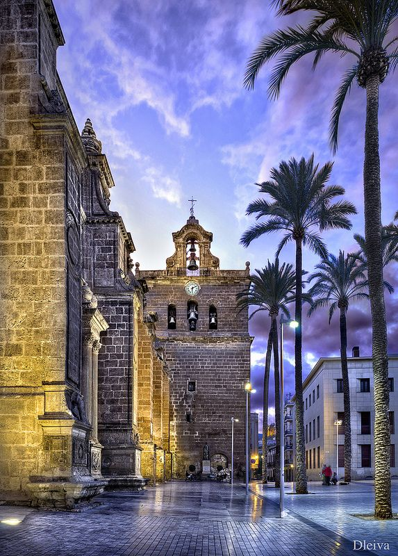 Torre De La Catedral De Almería Almeria Spain Places To Visit